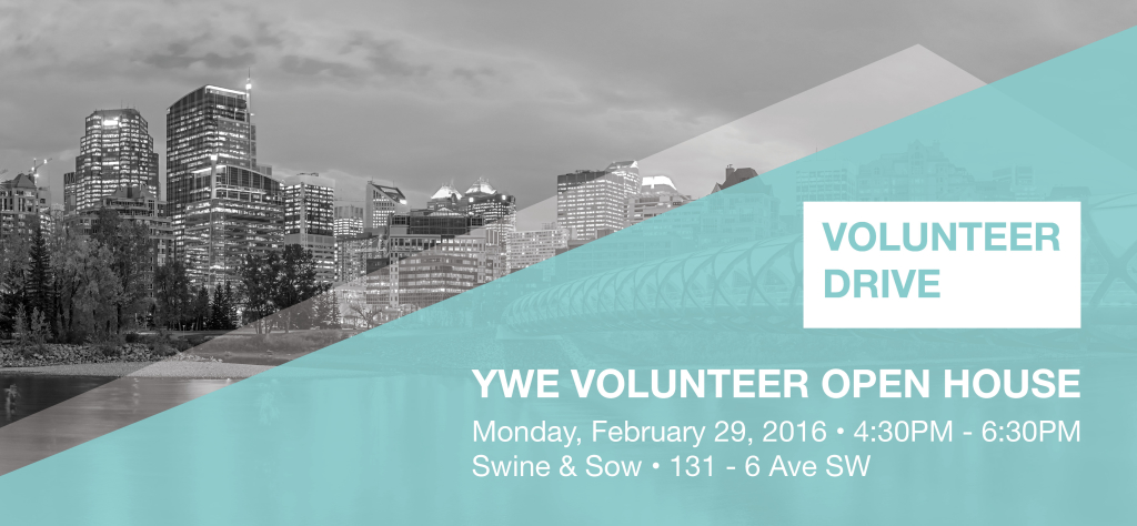 YWE Volunteer Open House - February 29